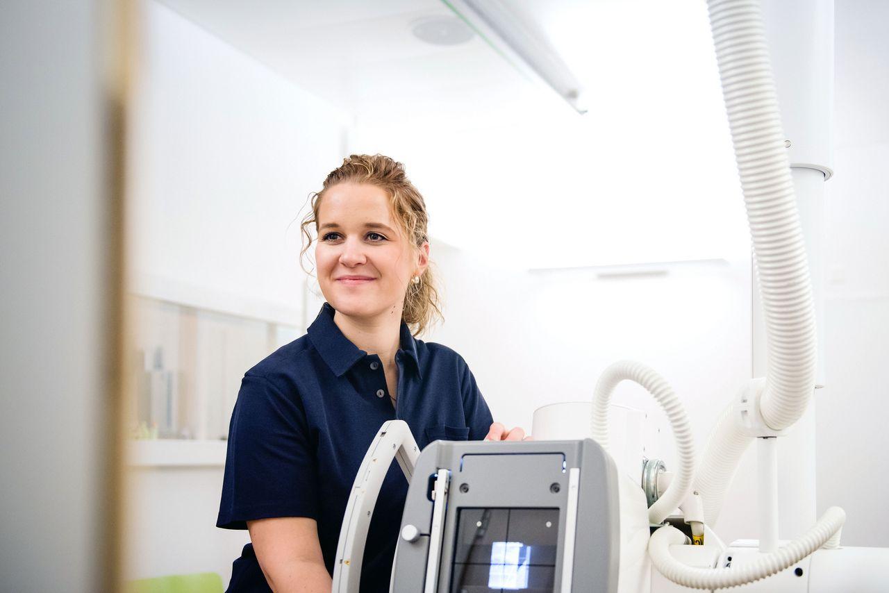 Tanja Lüthi, angehende Radiologiefachfrau HF